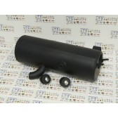 BLACK EXHAUST MUFFLER SILENCER